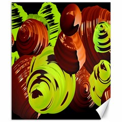 Neutral Abstract Picture Sweet Shit Confectioner Canvas 8  X 10  by Nexatart