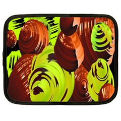 Neutral Abstract Picture Sweet Shit Confectioner Netbook Case (xxl)  by Nexatart