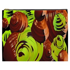 Neutral Abstract Picture Sweet Shit Confectioner Cosmetic Bag (xxxl)  by Nexatart