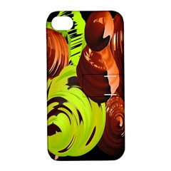 Neutral Abstract Picture Sweet Shit Confectioner Apple Iphone 4/4s Hardshell Case With Stand