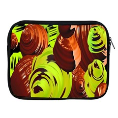 Neutral Abstract Picture Sweet Shit Confectioner Apple Ipad 2/3/4 Zipper Cases