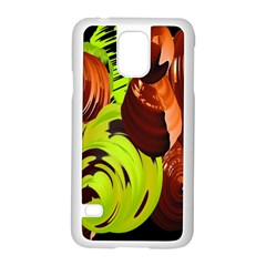 Neutral Abstract Picture Sweet Shit Confectioner Samsung Galaxy S5 Case (white) by Nexatart