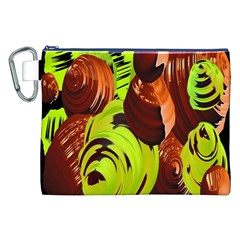 Neutral Abstract Picture Sweet Shit Confectioner Canvas Cosmetic Bag (xxl) by Nexatart