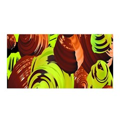 Neutral Abstract Picture Sweet Shit Confectioner Satin Wrap by Nexatart