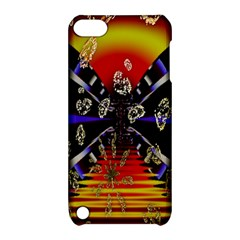 Diamond Manufacture Apple Ipod Touch 5 Hardshell Case With Stand by Nexatart