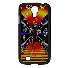 Diamond Manufacture Samsung Galaxy S4 I9500/ I9505 Case (black) by Nexatart