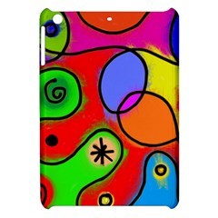 Digitally Painted Patchwork Shapes With Bold Colours Apple Ipad Mini Hardshell Case