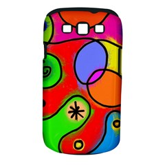 Digitally Painted Patchwork Shapes With Bold Colours Samsung Galaxy S Iii Classic Hardshell Case (pc+silicone) by Nexatart