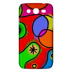 Digitally Painted Patchwork Shapes With Bold Colours Samsung Galaxy Mega 5 8 I9152 Hardshell Case