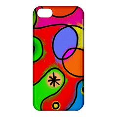 Digitally Painted Patchwork Shapes With Bold Colours Apple Iphone 5c Hardshell Case by Nexatart