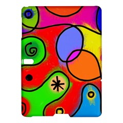 Digitally Painted Patchwork Shapes With Bold Colours Samsung Galaxy Tab S (10 5 ) Hardshell Case  by Nexatart