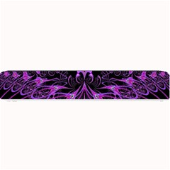 Beautiful Pink Lovely Image In Pink On Black Small Bar Mats