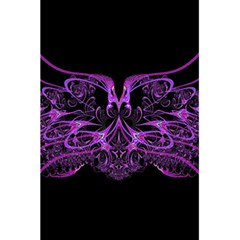 Beautiful Pink Lovely Image In Pink On Black 5 5  X 8 5  Notebooks by Nexatart