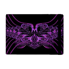 Beautiful Pink Lovely Image In Pink On Black Apple Ipad Mini Flip Case