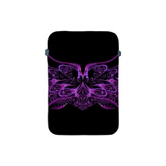 Beautiful Pink Lovely Image In Pink On Black Apple Ipad Mini Protective Soft Cases