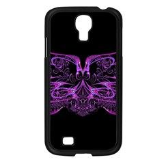 Beautiful Pink Lovely Image In Pink On Black Samsung Galaxy S4 I9500/ I9505 Case (black) by Nexatart