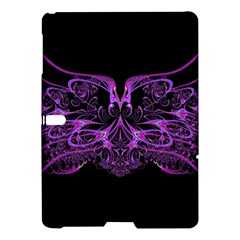 Beautiful Pink Lovely Image In Pink On Black Samsung Galaxy Tab S (10 5 ) Hardshell Case  by Nexatart