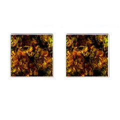 Autumn Colors In An Abstract Seamless Background Cufflinks (square) by Nexatart