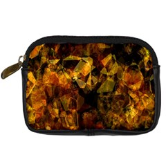 Autumn Colors In An Abstract Seamless Background Digital Camera Cases by Nexatart