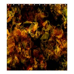 Autumn Colors In An Abstract Seamless Background Shower Curtain 66  X 72  (large)  by Nexatart
