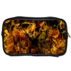 Autumn Colors In An Abstract Seamless Background Toiletries Bags 2 Side by Nexatart