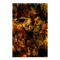 Autumn Colors In An Abstract Seamless Background Shower Curtain 48  X 72  (small)