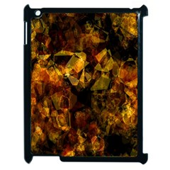 Autumn Colors In An Abstract Seamless Background Apple Ipad 2 Case (black)