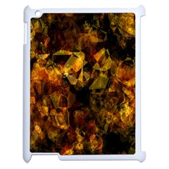 Autumn Colors In An Abstract Seamless Background Apple Ipad 2 Case (white) by Nexatart