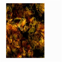 Autumn Colors In An Abstract Seamless Background Large Garden Flag (two Sides) by Nexatart