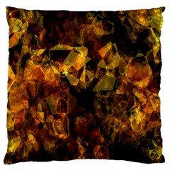 Autumn Colors In An Abstract Seamless Background Large Cushion Case (one Side)