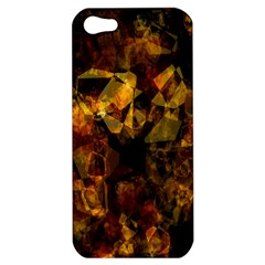 Autumn Colors In An Abstract Seamless Background Apple Iphone 5 Hardshell Case by Nexatart