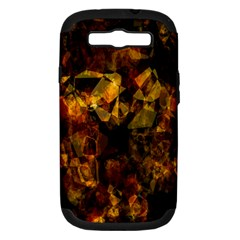 Autumn Colors In An Abstract Seamless Background Samsung Galaxy S Iii Hardshell Case (pc+silicone)