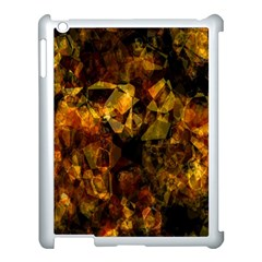 Autumn Colors In An Abstract Seamless Background Apple Ipad 3/4 Case (white) by Nexatart