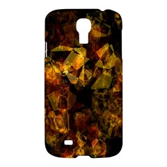 Autumn Colors In An Abstract Seamless Background Samsung Galaxy S4 I9500/i9505 Hardshell Case by Nexatart
