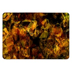Autumn Colors In An Abstract Seamless Background Samsung Galaxy Tab 8 9  P7300 Flip Case by Nexatart