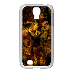 Autumn Colors In An Abstract Seamless Background Samsung Galaxy S4 I9500/ I9505 Case (white) by Nexatart