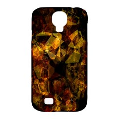 Autumn Colors In An Abstract Seamless Background Samsung Galaxy S4 Classic Hardshell Case (pc+silicone)
