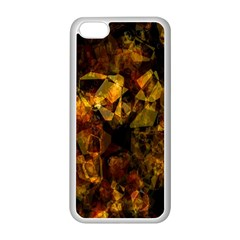 Autumn Colors In An Abstract Seamless Background Apple Iphone 5c Seamless Case (white) by Nexatart