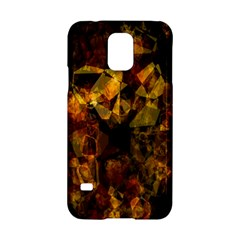 Autumn Colors In An Abstract Seamless Background Samsung Galaxy S5 Hardshell Case  by Nexatart