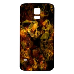 Autumn Colors In An Abstract Seamless Background Samsung Galaxy S5 Back Case (white) by Nexatart