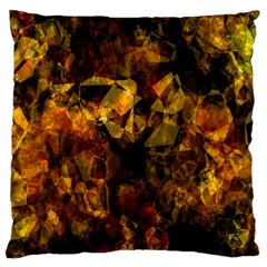 Autumn Colors In An Abstract Seamless Background Large Flano Cushion Case (one Side) by Nexatart