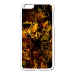 Autumn Colors In An Abstract Seamless Background Apple Iphone 6 Plus/6s Plus Enamel White Case by Nexatart