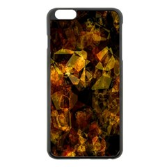 Autumn Colors In An Abstract Seamless Background Apple Iphone 6 Plus/6s Plus Black Enamel Case