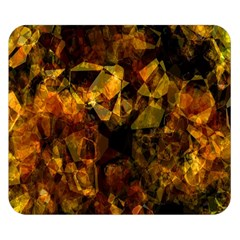 Autumn Colors In An Abstract Seamless Background Double Sided Flano Blanket (small)