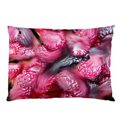 Raspberry Delight Pillow Case (two Sides)