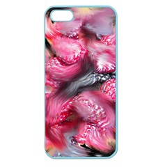 Raspberry Delight Apple Seamless iPhone 5 Case (Color) by Nexatart
