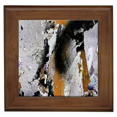 Abstract Graffiti Background Framed Tiles by Nexatart