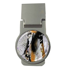 Abstract Graffiti Background Money Clips (round)