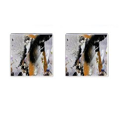 Abstract Graffiti Background Cufflinks (square) by Nexatart