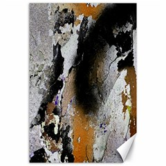 Abstract Graffiti Background Canvas 24  X 36  by Nexatart